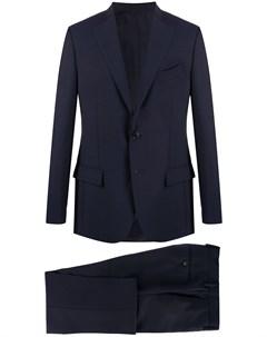 Костюм двойка с однобортным пиджаком Dell'oglio