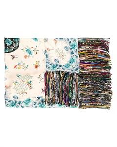шарф Aloeuw с цветочным принтом Pierre-louis mascia