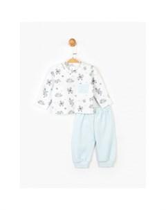 Комплект для мальчика кофта и штанишки PN14828 Panolino