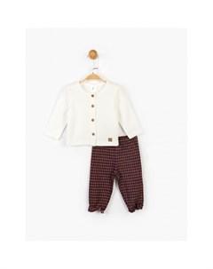 Костюм для девочки брюки и кофта PN14926 Panolino