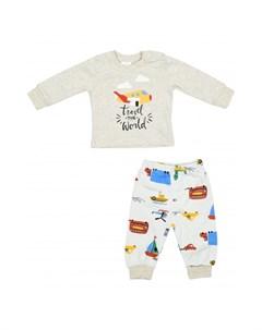 Комплект для мальчика кофта и штанишки PN14328 Panolino