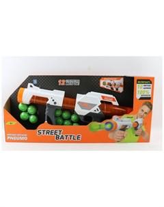 Игрушечное оружие Street Battle с мягкими шариками Т13653 1toy