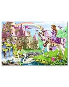 Деревянная игрушка Напольный пазл Волшебный замок 48 элементов Melissa & doug