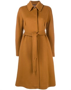 Однобортные пальто Alberta ferretti