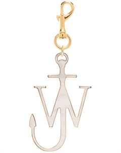 брелок с металлическим логотипом Jw anderson