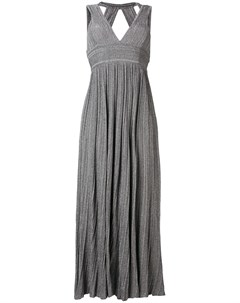 Платье с V образным вырезом Antonino valenti