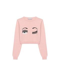 Хлопковый пуловер Chiara ferragni