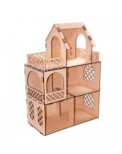 Конструктор Кукольный домик для мини кукол Я дизайнер Paremo