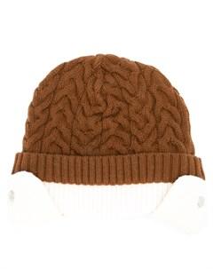 шапка фактурной вязки Sunnei