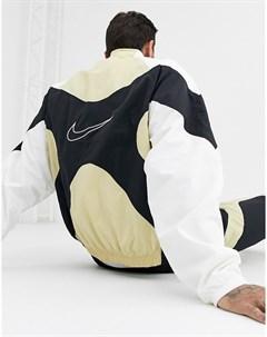 Золотистая олимпийка на молнии Re Issues Nike