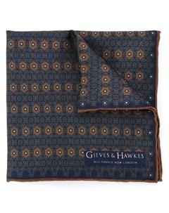 платок с принтом Gieves & hawkes