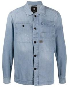 Рубашка с длинными рукавами и карманами G-star raw