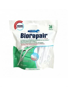 Зубная нить с держателем Hand Held Flosser 36шт Biorepair