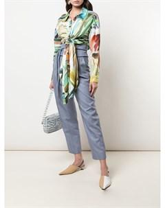 Блузка с принтом Rosie assoulin
