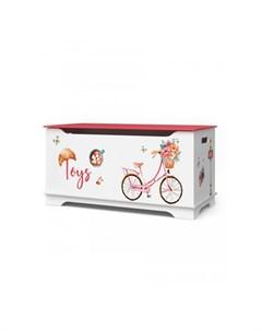 Маленький ящик для игрушек Путешествие в Париж Continent decor