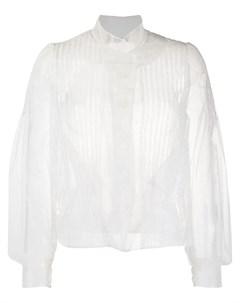 Блузка из тюля с пышными рукавами Simone rocha