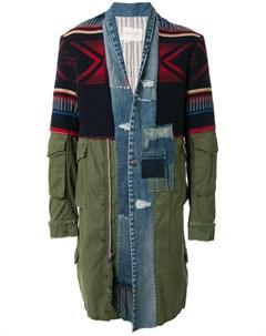 Куртка 50 50 Kimono Artist Greg lauren
