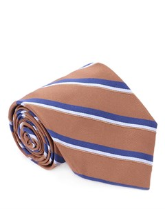 Галстук шелковый с принтом Barba