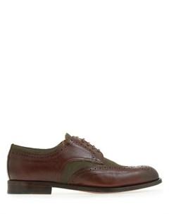 Туфли броги комбинированные Doucal's