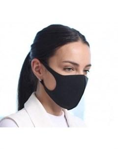 Многоразовая защитная маска черная Janssen (германия)