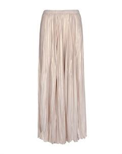 Бежевая плиссированная юбка Panicale
