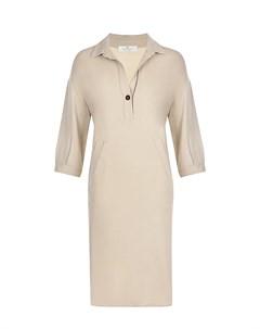 Шелковое платье рубашка Panicale