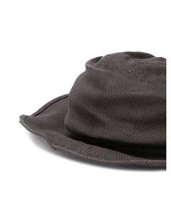 шляпа с жатым эффектом Horisaki design & handel
