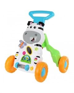 Ходунки Развивающая игрушка Каталка Зебра Ути пути