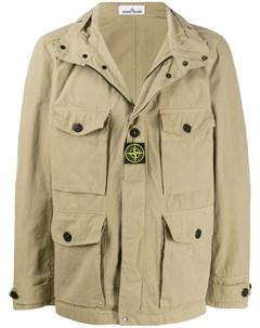 Куртка с логотипом Stone island