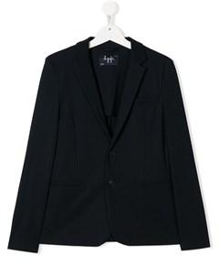 пиджак с V образным вырезом и разрезом сзади Il gufo