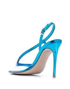 Босоножки на высоком каблуке с ремешками Le silla