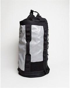 Маленький серебристый рюкзак Серебряный The north face