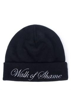 Шапка с вышивкой Walk of shame