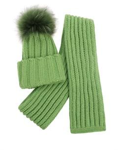 Комплект шапка и шарф Inverni