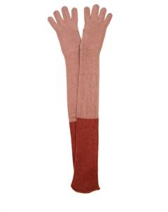 Перчатки кашемировые удлинённые Agnona