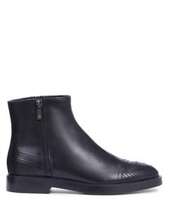 Ботинки кожаные на байке Fratelli rossetti