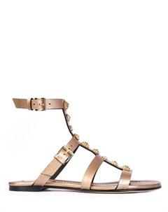 Кожаные сандалии Grey mer