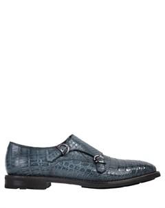 Туфли монки из крокодила Fratelli rossetti