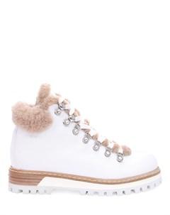 Кожаные ботинки на меху Le silla