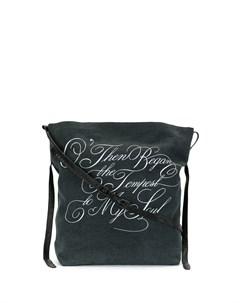 сумка на плечо с принтом Ann demeulemeester