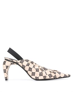 Туфли с ремешком на пятке и логотипом Misbhv