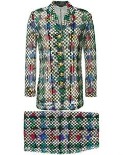 костюм с юбкой Versace pre-owned