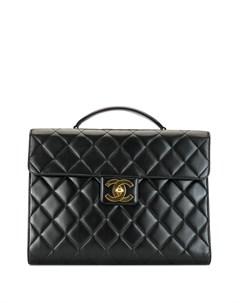 стеганый портфель Chanel pre-owned
