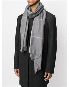 Клетчатый шарф N.peal