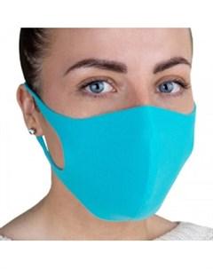 Многоразовая защитная маска голубая Rask (германия)