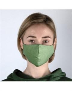 Многоразовая защитная маска зеленая Rask (германия)
