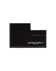 визитница с логотипом A-cold-wall*