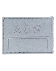 Нашивка с вышитым логотипом A-cold-wall*