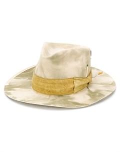 Шляпа Samos с камуфляжным принтом Nick fouquet