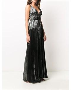 Платье Ayana с эффектом металлик Maria lucia hohan